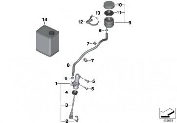 Halter Bremsflüssigkeitsbehälter (34317682891)
