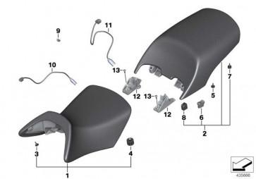 Sitz schwarz hinten  K26  (52537683640)