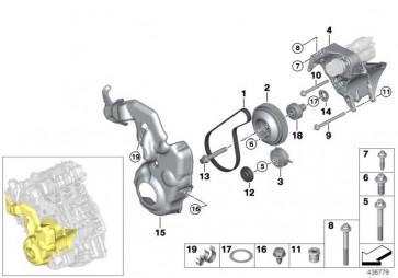 Sechsrundschraube CM10X110-8.8-ZN X5 i3  (07119907269)