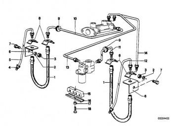 Rohrleitung M10/M10-1705MM   3er 5er 7er Z1  (34326755636)