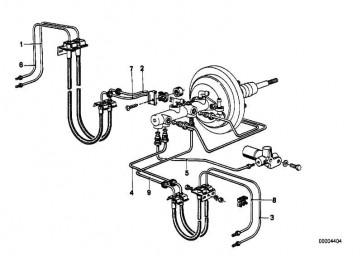 Rohrleitung M10/M10-1656MM   3er 5er 6er Z1 Z3  (34326755634)