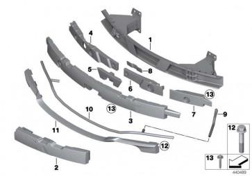 Trägerteil Füllstück links FGS / M3        3er  (51118056404)