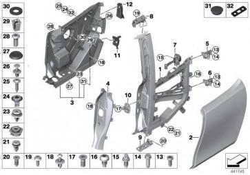 Türaussenhaut rechts  i3  (51007369332)