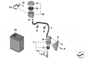 Hauptbremszylinder D=14MM          K25  (34317699574)
