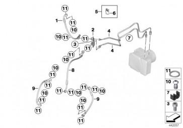 Leitungshalter 2-fach  K25 K28 K29 K27 K26 K47 K17 K46 K03 K23 K21  (34327704570)