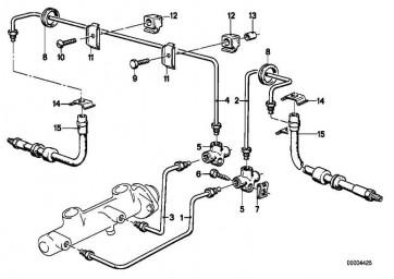 Rohrleitung M10/M10-1637MM   3er 5er Z1  (34326755633)