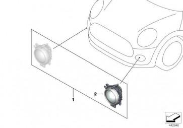 MINI Tagfahrlicht LED  MINI  (63122361243)