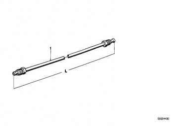 Rohrleitung M10/M10-448MM  5er 3er 7er Z1  (34326755306)