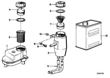 Ausgleichsbehälter 3 AUSGÄNGE       3er 5er  (34321112399)