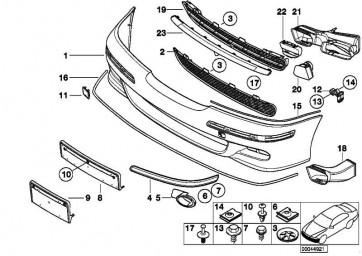Kreuzschlitzschraube für Kunststoff TS 5X8          1er 3er 5er 7er X1 X3 X5 X6 Z4 MINI  (07146959895)