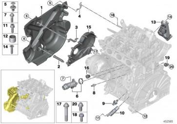 Öldrucksensor M12 MINI i8 X3 X4 5er 2er 1er 3er 4er X5 X1 7er  (12618614494)