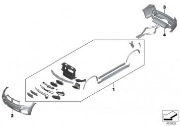 Nachschalldämpfer  X5 X6  (18308576916)