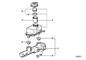 Verschluss mit Warnschalter  8er 7er 5er  (34331160307)
