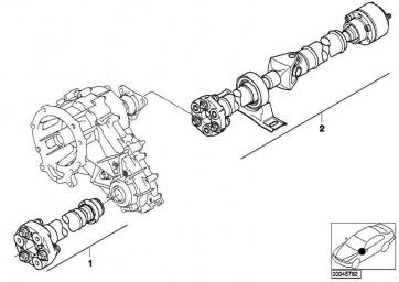 Gelenkwelle vorn L=774MM         X5  (26201229606)