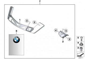 Adapter Verkleidungshalter  K43  (46637686638)