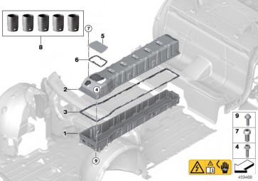 Sechskantschraube mit Innentorx M6X25MM (61277643663)