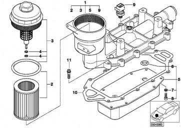 Zylinderschraube M6X16-8.8-ZNS3  1er 3er 5er 6er 7er X1 X3 X5 X6 Z4 MINI  (07119904105)