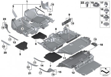 Trittbrett 3. Sitzreihe rechts SCHWARZ (51477362336)