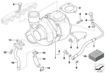 Austausch Turbolader REMAN (11652414339)