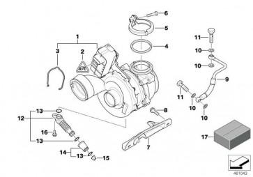 Austausch Turbolader  X3  (11657796316)