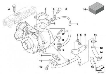 Austausch Turbolader REMAN 5er X3  (11652287495)