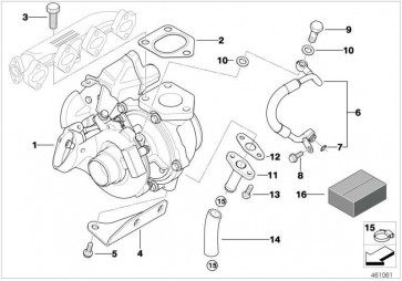 Austausch Turbolader REMAN 1er 3er  (11652287496)