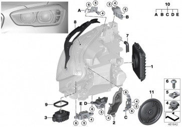 Reparatursatz Blinker rechts (63117428428)