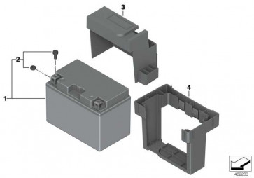 Batteriehalter   (61218523690)