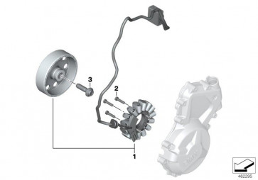 ISA-Schraube M6X25-010.9-MKL (07129909591)