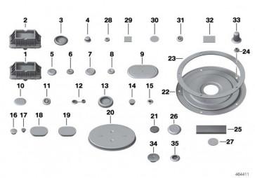 Tülle Notentwässerung  X3 1er 3er 4er X5 2er X4 X6 MS  (64319338798)