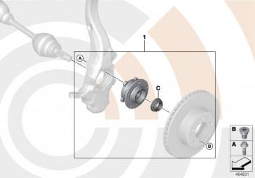 Reparatursatz Radlager vorn VALUE LINE (31222472827)