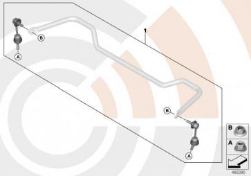 Reparatursatz Pendelstützen VALUE LINE X5 X6  (33322413660)