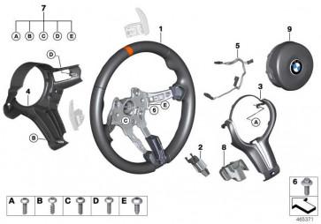 M Sportlenkrad Airb. Alcantara Multif. GTS  4er  (32307990790)