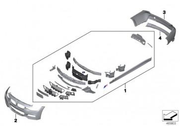 Verkleidung Stossfänger grundiert vorn M US PDC/SRA (51118067956)
