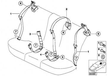 Linsenschraube M10X26          1er 3er 5er X1 X3 X5 Z4 Z8 MINI  (07146962565)