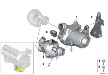 Kühlmittelpumpe elektrisch  X5  (11517568595)