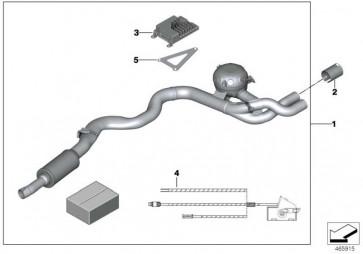 Steuergerät Active Sound Design ERSATZTEIL 3er 4er  (65122410181)