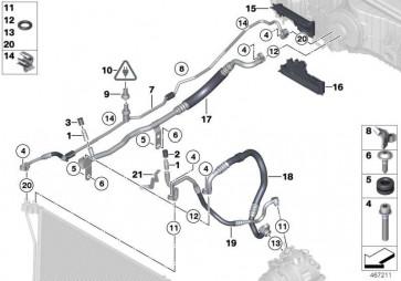 Druckleitung R134A 5er 6er  (64539218930)