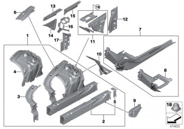 Stützträger o. Fgst.-Nr. Radhaus v. r. (41007446654)