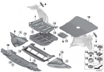 Motorraumabschirmung -M-             3er 4er  (51758054269)