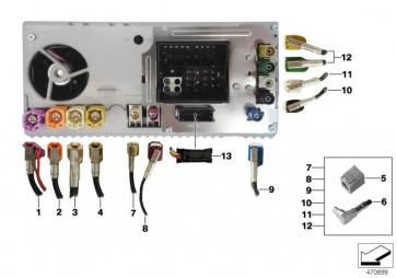 HSD-Leitung HU - USB/AUX (61126835853)