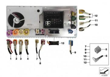 Rep.-Leitung Antennen DAB  1er 2er  (61119371859)