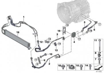 Getriebeölkühlerleitung Vorlauf (17227853889)