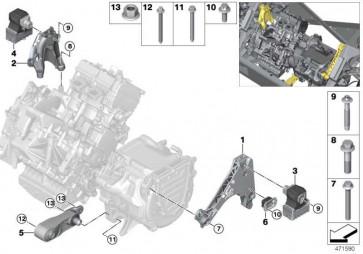 Tragbock Generator REX  i3  (22116878938)