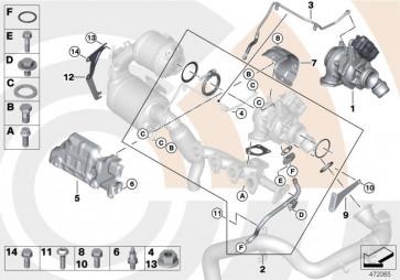 Anbausatz Turbolader VALUE LINE (11652444366)