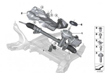 Austausch Lenkgetriebe elektrisch (32106857921)