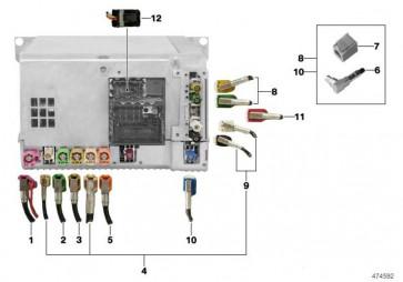 Verbindungsleitung Headunit High - CID  X5 X6  (61119338018)