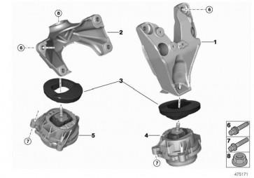 Versteifungsring Motortragblock STIFFENING RING MS  (22118416823)