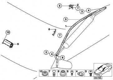 Airbagmodul Beifahrerseite  3er  (72129394542)
