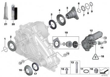 Austausch Stellmotor  X5 X3 X6  (27102449709)